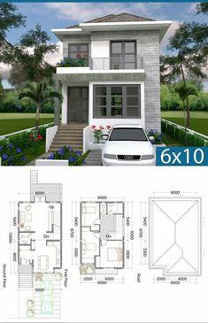 Sims House Plans, House Layout Plans, Dream House Plans, Small House Plans, House Layouts, Free House Design, Small House Design, Modern House Design, Bungalow Haus Design