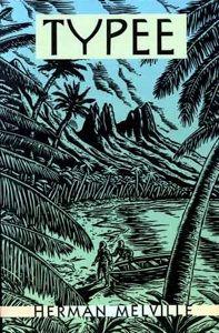 Capa de Typee, livro lançado em 1846, que relata muitas histórias reais vividas por Herman Melville.