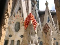 Gaudi started project in 1883 and it is still under construction. Antoni Gaudi, Blogger Themes, Nightlife Travel, Barcelona Spain, Foodie Travel, Travel Quotes, Night Life, Architecture Design, Tattoo Designs