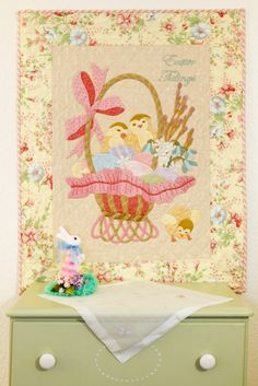 Easter Tidings, A Vintage Spool Pattern By Verna Mosquera