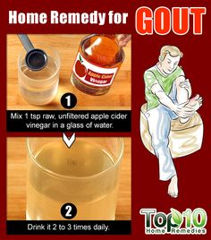 DIY ACV Remedy for Gout