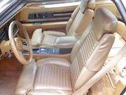 1989 Buick Reatta's interior beige