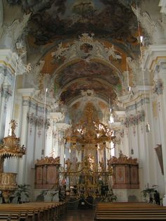 St Paulin- Trier, Germany | European Cathedrals | Pinterest