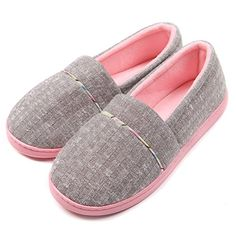 Shop a great selection of ChicNChic Women Comfortable Cotton Knit Anti-Slip House Slipper Washable Slip-On Home Shoes. Find new offer and Similar products for ChicNChic Women Comfortable Cotton Knit Anti-Slip House Slipper Washable Slip-On Home Shoes. Grey Slippers, Bedroom Slippers, Winter Slippers, Cute Slippers, Knitted Slippers, Leather Slippers, Gifts For Pregnant Wife, Discount Designer Shoes, Fashion Slippers