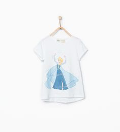 Frozen T - shirt - T - shirts - Girl - COLLECTION AW15 | ZARA United Kingdom