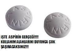 Aspirin gerçeği nedir aspirinin ana maddesi nedir ve hangi alanlarda aspirini kullanabilirsiniz hepsi yazımızsa
