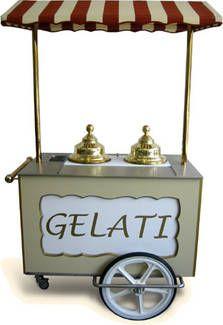 können Sie, nach Wunsch, ausstatten mit einer Kühlakku-Isolierbox oder einer elektrischen 80 Liter Tiefkühlbox. Passend für 3 Eisbehälter (9 L