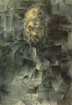 """Ambroise Vollard"", 1909-1910, Moscú, Museo Puschkin"