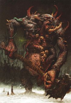 Chaos Troll - Warhammer Wiki - Wikia