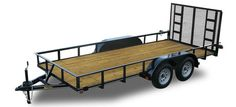 Kaufman Trailers Basic Tandem Axle Utility Trailer 6000 GVWR are offered for the price conscious buyer. Landscape Trailers, Equipment Trailers, Moving Furniture, Utility Trailer, Kubota, Tandem, Offroad, Wheelbarrow, Trapper Keeper