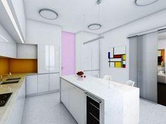 Jednym z głównych założeń projektu wnętrza apartamentu w Kaliningradzie było stworzenie przestrzeni, która byłaby esencją minimalizmu oblanego bielą. Wnętrze zorganizowane jest na zasadzie open space i przepełnione jest naprzemiennie światłem dziennym i sztucznym. http://sztuka-wnetrza.pl/1575/artykul/projekt-wnetrza-apartamentu-ndash-chinska-zasada-feng-shui