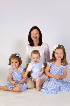 """""""Mom and Kiddos"""" by Portrait Creations photography studio located in South Charlotte, NC."""