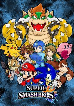 Super Smash Bros 02 by sweet-blaze.deviantart.com on @deviantART