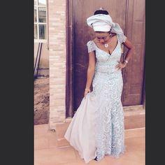 Glamorous & Trendy Aso-Ebi Styles. Nigerian Fashion styles. Nigerian wedding guests.