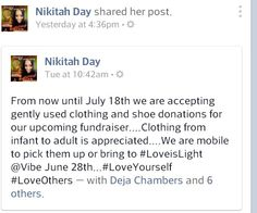 #Fundraiser #Support #LoveYourself