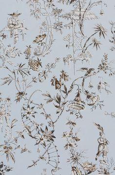 Scalamandre cotton, color sky