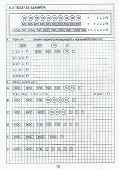 Gyere mesélj! - Képgaléria - Sulis feladat lapok (alsó tagozat) - Kiszámoló 4. osztály First Language, Periodic Table, Homeschool, Japanese, Words, Prints, Worksheets, Tokyo, Periodic Table Chart