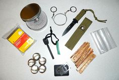 Complete Emergency Fire, Heat, & Light Outdoor Cold Weather Survival 2-Hr Buddy Burner Bug Out Kit