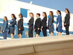 Ολυμπιακή Αεροπορία 1957— 2008 Olympic Airlines, Intelligent Women, Cabin Crew, Flight Attendant, Athens, Airplane, Olympics, Greece, Aviation