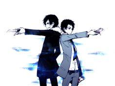 """""""Durarara!!""""  No one can send a text more epically than Mikado, not even Izaya!"""