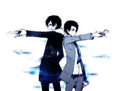 """Durarara!!""  No one can send a text more epically than Mikado, not even Izaya!"