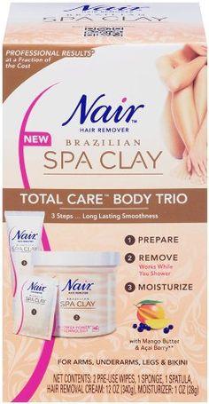 Nair Brazilian Spa Clay Total Care Body Trio, 12 Ounce Nair http://www.amazon.com/dp/B00C1NAPL8/ref=cm_sw_r_pi_dp_Ry-Hub0SQXTRB