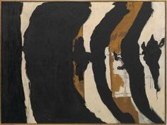 Robert Motherwell, Wall Painting No. III, 1953. Oil on canvas, 137.1 x 184.5 cm. Private collection. Courtesy Hauser & Wirth © Dedalus Foundation, Inc. /VAGA, NY/VEGAP, Bilbao, 2016