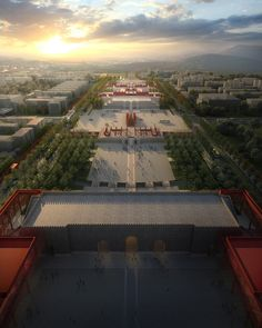 Regeneration of the Forbidden City / WILCOTER Architects - www.more4design.pl - www.mymarilynmonroe.blog.pl - www.iwantmore.pl