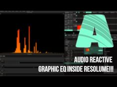 so today I'm going to show you how to create this audio reactive graphic eq visual inside of resolume arena. Projection Mapping, Sound & Vision, Three Dimensional, Audio, Youtube, Psychics, Youtube Movies