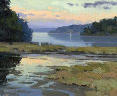 September Light by Mike Kowalski Oil ~ 8 x 10