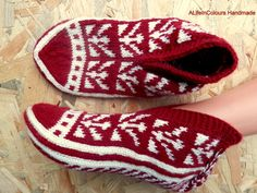 Turkish unique hand knitted women's winter warm by ALIFEINCOLOURS