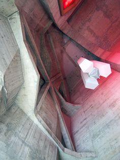 Rudolf Steiner's Goetheanum in Dornach, Switzerland, dating back to 1928.