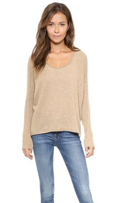 Bop Basics Roxboro Cashmere Sweater I love this top!! I am not a sweater girl but this has me.