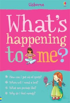 Usborne Book What's Happening to Me? Girls