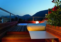 Hotel ImperialArt - panorama terrace of Paradise Loft with private jacuzzi