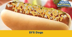 I built my own hot dog! Just choose your toppings and enjoy! #HebrewNational