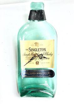 The Singleton 12 of Dufftown single malt Scotch whisky bottle clock by causewaybay on Etsy