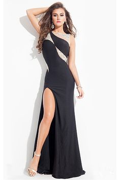 Wonderful Long Yarn Floor-length Sheath Empire Prom Dresses