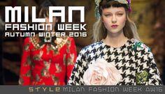 Top Looks from Milan Fashion Week AW16