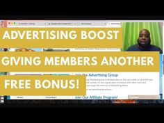 Advertising Boost is giving members another Free Bonus! Advertising Boost just keeps getting better and better. Last month they their members and affiliates . Make Money Online, How To Make Money, You Youtube, Giving, Advertising, News, Free, Earn Money Online