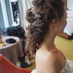 bridal hair*