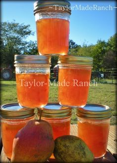 Preserving The Harvest: Pear Preserves - A sweet friend invited me to harvest pears from her large tree & another sweet friend offered her pear preserves recipe - DELICIOUS!  #TaylorMadeRanch