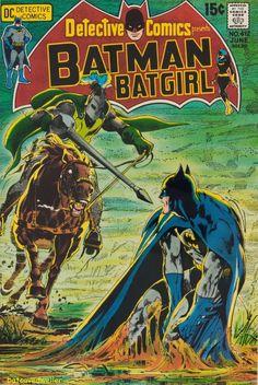Detective Comics #412 (1971). Cover art: The accomplished Neal Adams! #NealAdams #NealAdamsArt #Knight #TheSpectre #Wildcat #Superman #Batman #DCComics #DetectiveComics #WorldsFinest #25CentComic #Sci-Fi #Batcavedweller #TheDarkKnight #VintageComic #SilverAge #SilverAgeComic #GoldenAge #GoldenAgeComic #BronzeAge #BronzeAgeComic #15CentComic Batman Comic Books, Comic Book Heroes, Comic Books Art, Batman And Batgirl, I Am Batman, Dc Comics, Batman Comics, Batman Poster, Vintage Comic Books