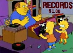 Louis record store offers new and used LP records, CD, Cassettes and more. Shop online or in our Saint Louis record store. The Simpsons Show, Simpsons Cartoon, Musica Disco, Vinyl Collectors, Vinyl Junkies, Music Images, Record Collection, Vinyl Art, Lp Vinyl
