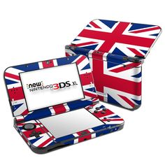 DecalGirl Nintendo New 3DS XL skins feature vibrant full-color artwork that helps protect the Nintendo New 3DS XL from minor scratches and abuse without adding any bulk or interfering with the device's operation.   This skin features the artwork Union Jack by Flags - just one of hundreds of designs by dozens of talented artists from around the world.