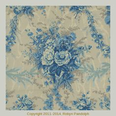 Maison Bleue 1754-001 by Robyn Pandolph for RJR Fabrics