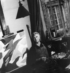 """""""Espace"""" artist Silvano Bozzolini (1911-1998)"""
