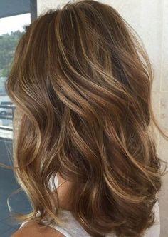 Haare strähnen hellen braune mit Haare aufhellen