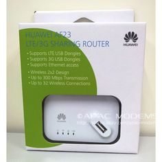 HUAWEI AF23 4G LTE/3G USB Sharing Dock Router Ethernet WiFi Hotspot Access Point #Huawei