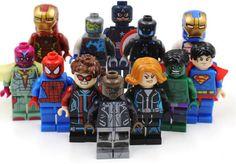 12pcs/lot Cartoon Model Building Revenge Doll Minifigures Bricks Blocks Kid Toys Compatible With Leg0
